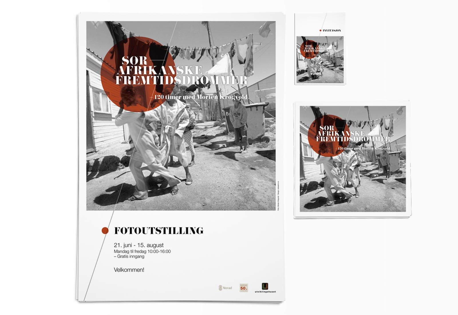 SØRAFRIKANSKE FREMTIDSDRØMMER – 120 timer med Morten Krogvold – fotoutstilling