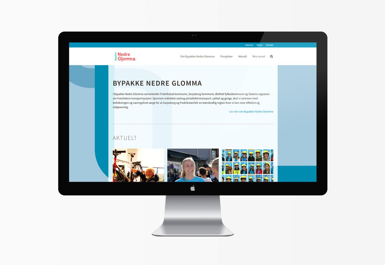 Desktopbilde av bypakkenedreglomma.no