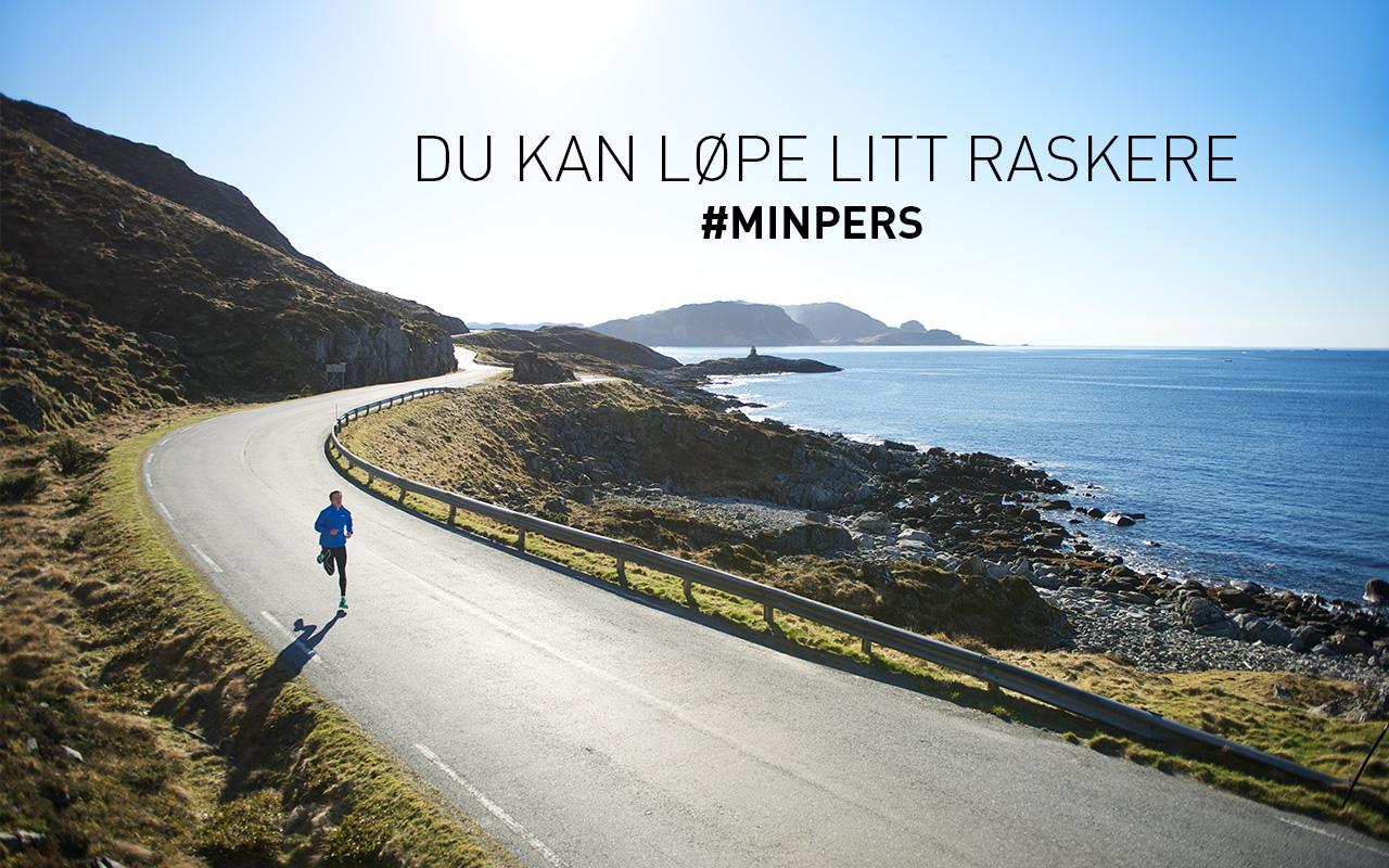 Intersport banner, jogger