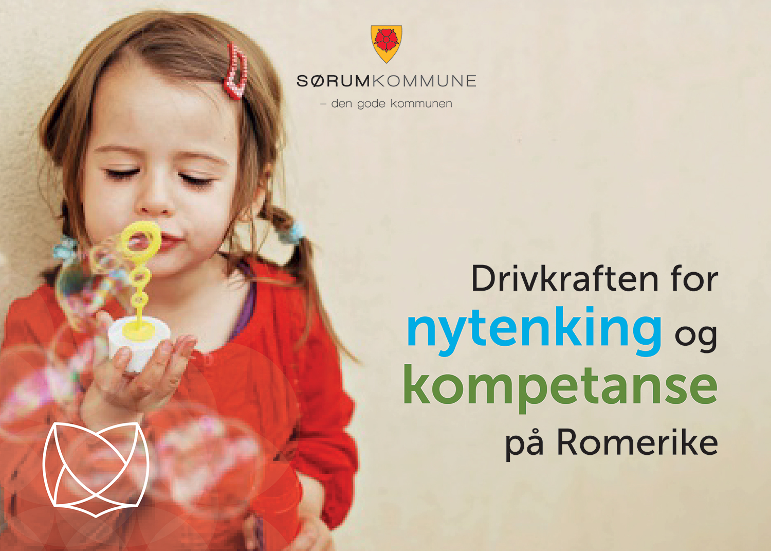 Profilplakat med pay-off Sørum kommune