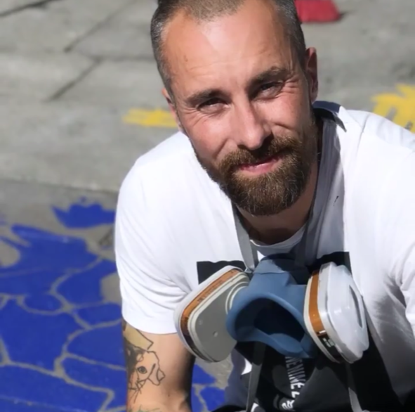 Grafittikunstner Steinar Caspari